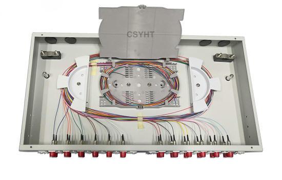 Fixed Type Fiber Optic Patch Panel 24 Core